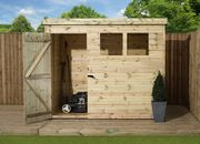Empire 1500  Pent Range 6X4ft